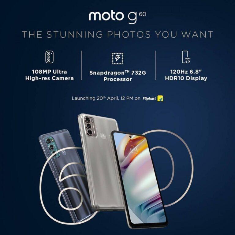 Motorola, Moto G60 ve Moto G40 Fusion'ın temel özelliklerini tanıttı
