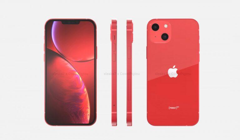 Apple iPhone 13 kırmızı rengiyle kendini gösterdi!