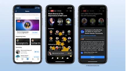 Facebook, Clubhouse ile rekabet etmek için yeni ses özellikleri sunuyor