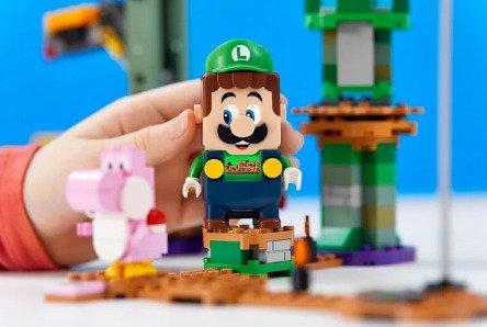 Lego, Super Mario koleksiyonuna Luigi seti ekliyor