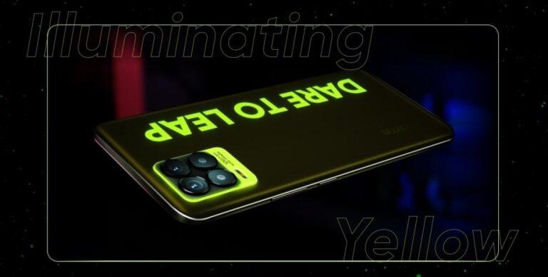 """Realme 8 Pro """"Aydınlatıcı Sarı"""" rengiyle 26 Nisan'da satışa çıkacak"""
