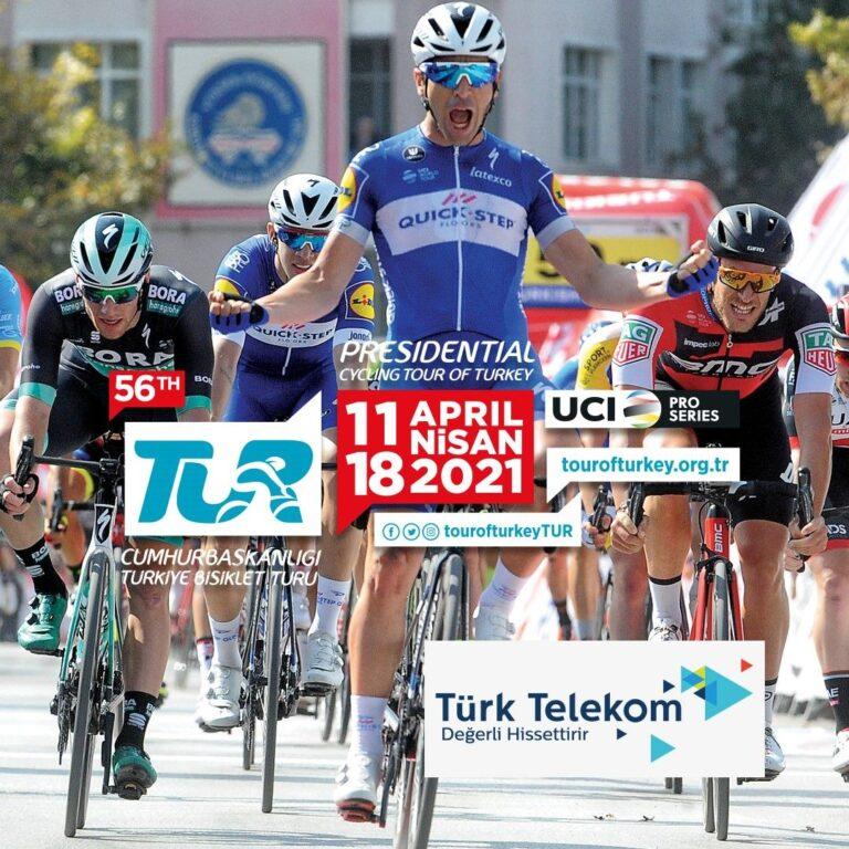Cumhurbaşkanlığı Türkiye Bisiklet Turu 'nailetişim ve teknoloji desteği Türk Telekom'dan