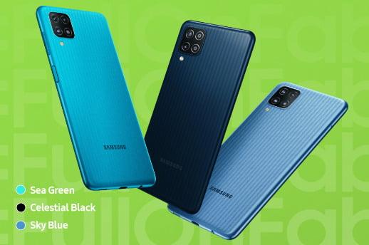 Samsung Galaxy F02s, yeniden tasarlanmış Galaxy M02s / M12 olarak piyasaya sürüldü