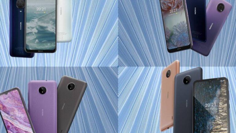 Nokia G20 ve G10, büyük bataryalarla tanıtıldı! İşte özellikleri