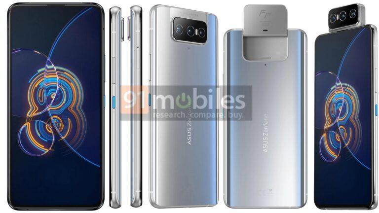 Asus Zenfone 8 ve Zenfone 8 Flip'in teknik özellikleri belli oldu