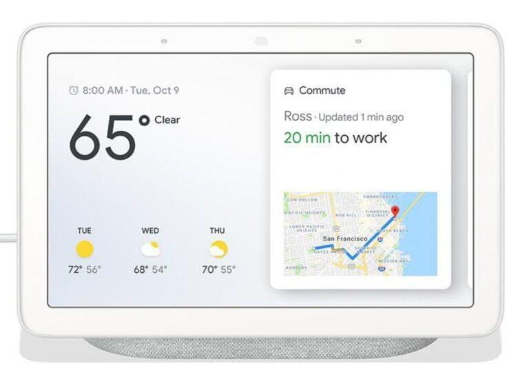 Google Fuchsia işletim sistemini orijinal Nest Hub'da test ediyor