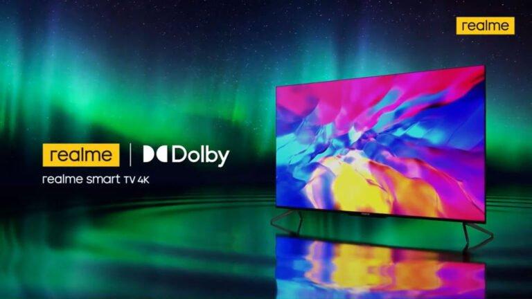 realme Smart TV 4K piyasaya sürüldü!