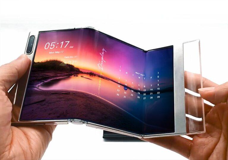 Yeni trend katlanabilir akıllı telefonlar