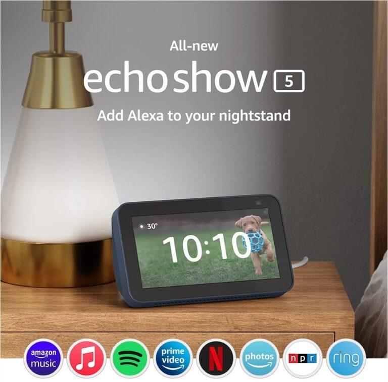 Amazon Echo Show 8 ve Echo Show 5'i duyurdu