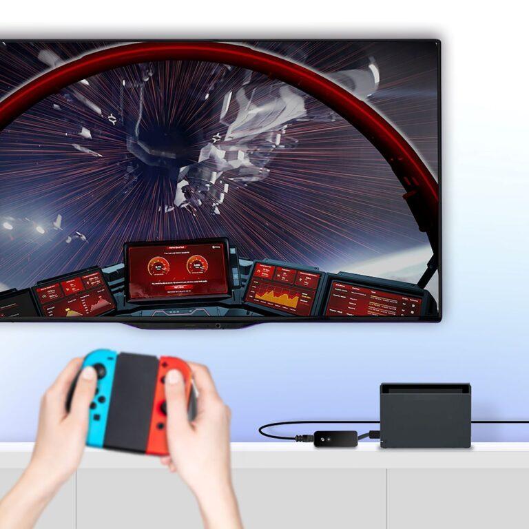 Nintendo Switch ile Uyumlu  Gigabit Ağ Adaptörü