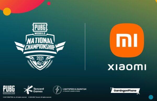 PUBG Mobile National Championship UK sponsoru Xiaomi