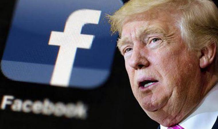 Facebook, Donald Trump'ın hesabını 2023'e kadar askıya aldı