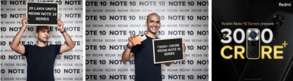 Redmi Note 10 serisi 2 milyonun üzerinde sattı! Mi 11X de güçleniyor
