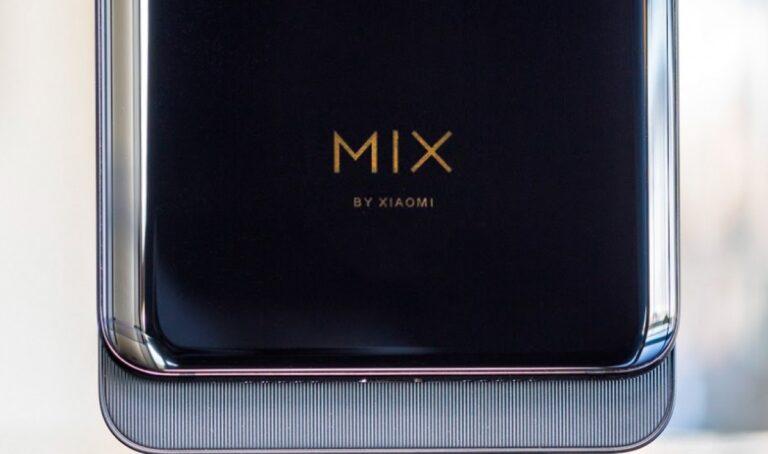 Xiaomi Mi Mix 4 en iyi ekran altı kamera ile geliyor!