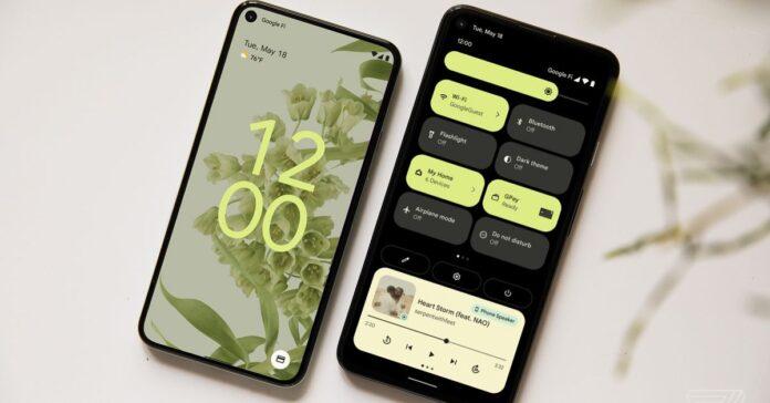 Android 12 Beta 2, Pixel cihazlarına sunuluyor