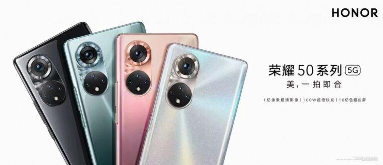 Honor 50 Pro, AnTuTu'da Snapdragon 778G ile kıyaslandı