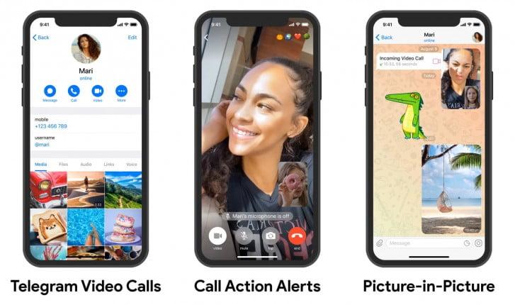 Telegram sonunda grup görüntülü arama özelliği ekliyor