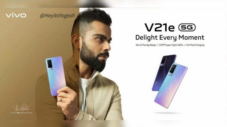 Vivo V21e 5G teknik özellikleri, resmi açıklama öncesinde sızdırıldı