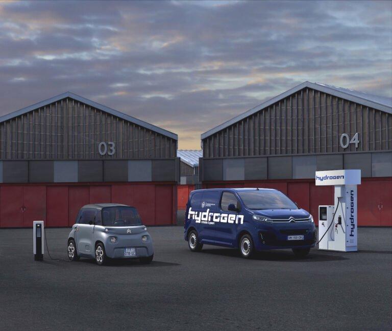 Elektrikli ticari Citröen e-Jumpy Hydrogen tanıtıldı