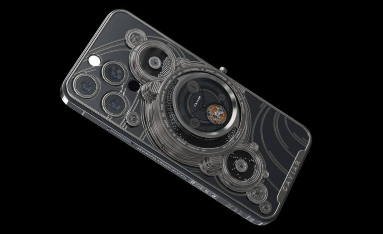 Caviar iPhone 13 için kolları sıvadı