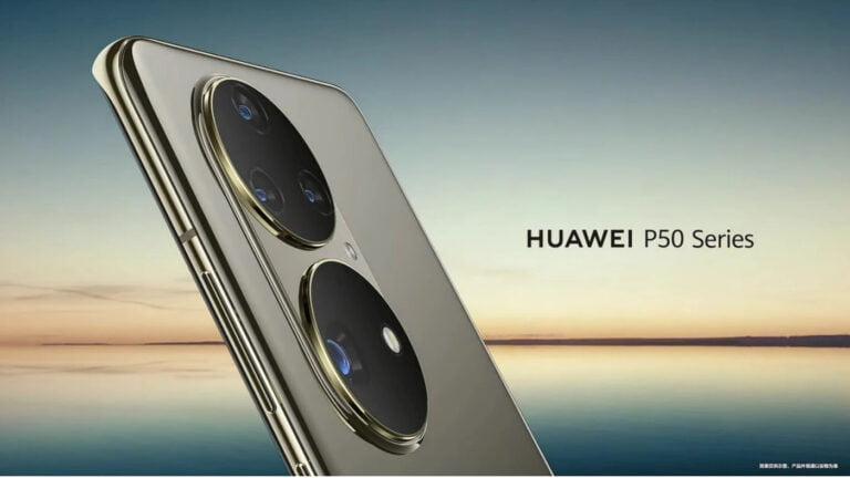 Huawei P50 sonunda ortaya çıktı!