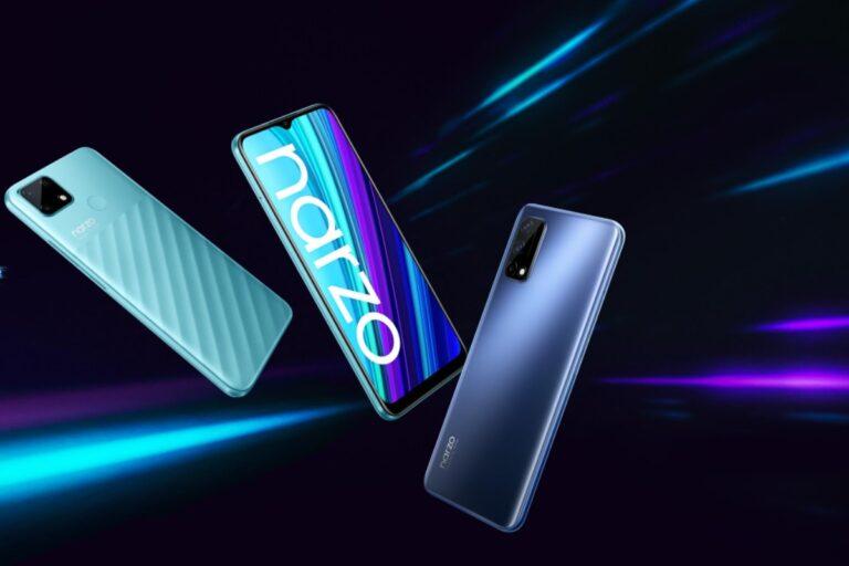 Realme Narzo 30 5G, 4G ve renk çeşitleri sızdırıldı