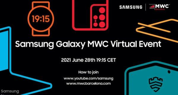 Samsung MWC 2021 için hazır