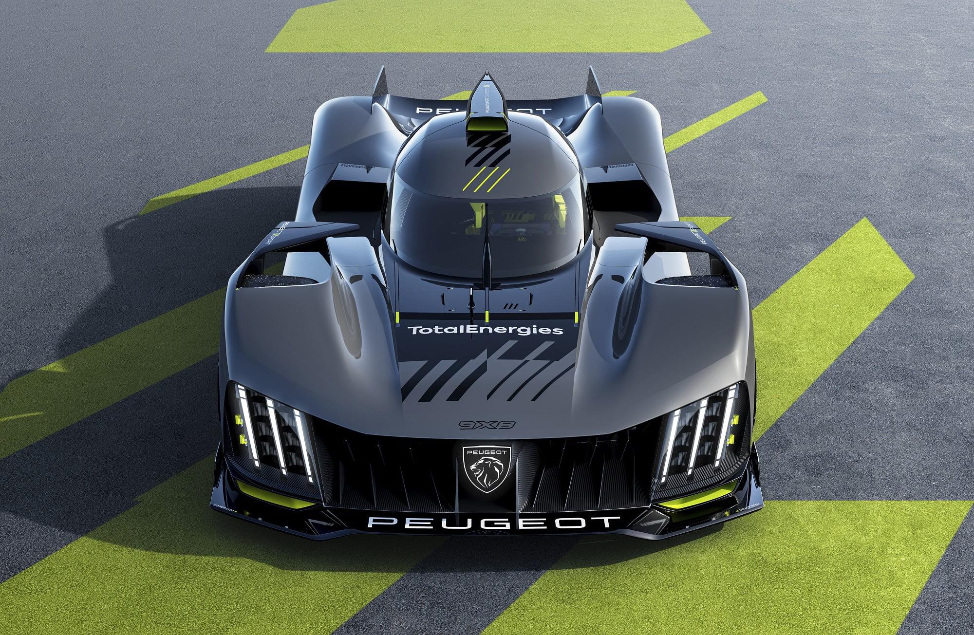 Peugeot imzalı 9X8 Le Mans Hypercar tanıtıldı