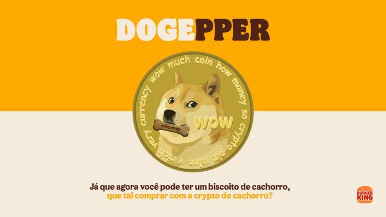Dogecoin, Brezilya Burger King'te ödeme yöntemi olarak kabul edildi