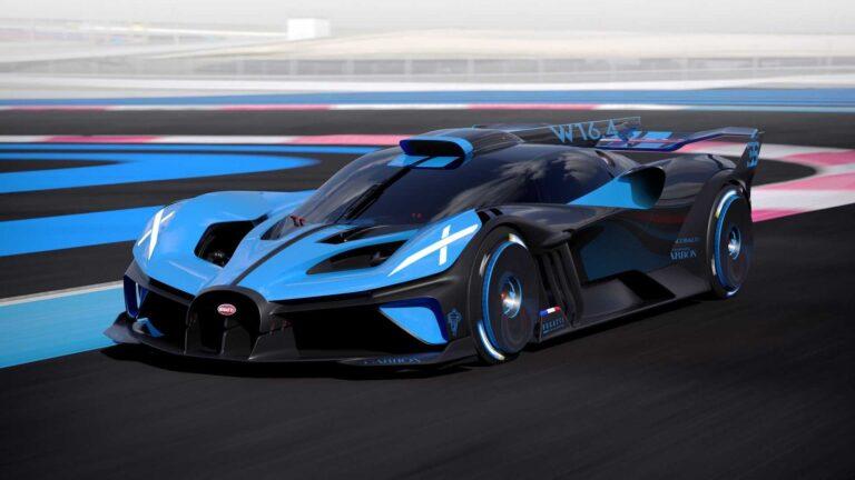 İşte en güçlü otomobil! Bugatti Bolide