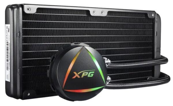 XPG LEVANTE 240 ARGB sıvı soğutma sistemiyle hem serinleyin, hem ışıldayın