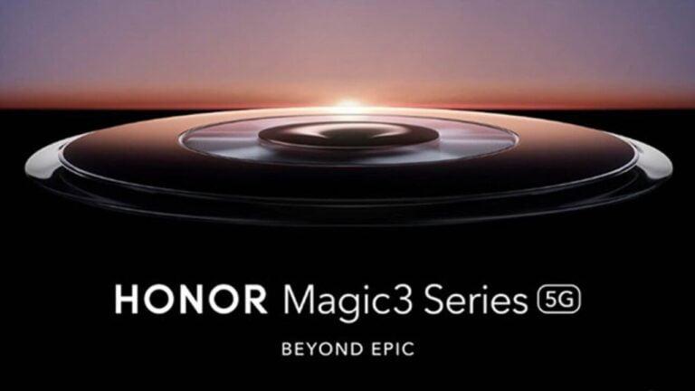 Google desteği olan Honor Magic3 Pro tanıtıldı