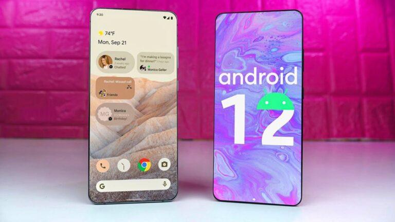 Android 12 son beta sürümü yayınlandı