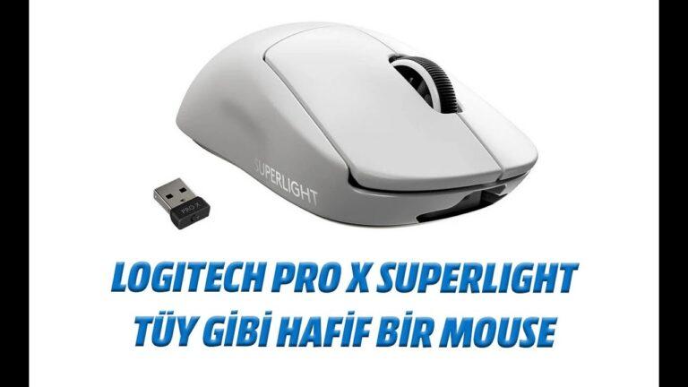Logitech Pro X Superlight inceleme: Tüy gibi hafif bir mouse