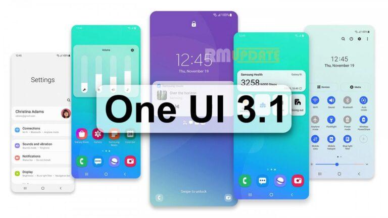 Samsung, eski katlanabilir cihazlar için One UI 3.1.1 güncellemesi yayınlıyor