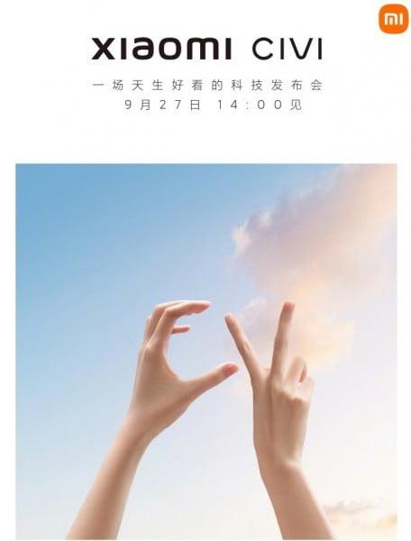 Xiaomi şimdi de Civi serisiyle geliyor