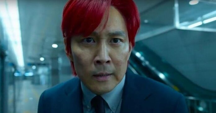 Squid Game yıldızı finalde saçının neden kırmızı olduğunu açıkladı