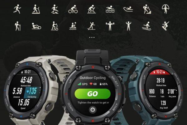 Amazfit T-Rex Pro: Güçlü tasarımı ve 100'den fazla spor moduyla dikkat çekiyor!