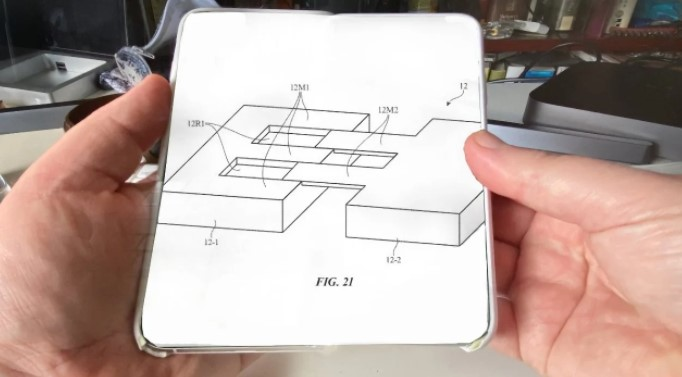 Apple, katlanabilir iPhone tasarımını güncelliyor