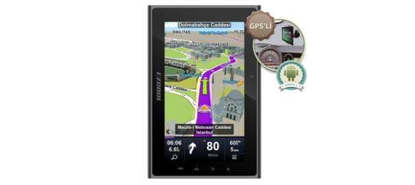 Hem Tablet, Hem Navigasyon Cihazı: Ezcool Smart GP7
