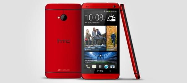 HTC One Kırmızı Renge Büründü