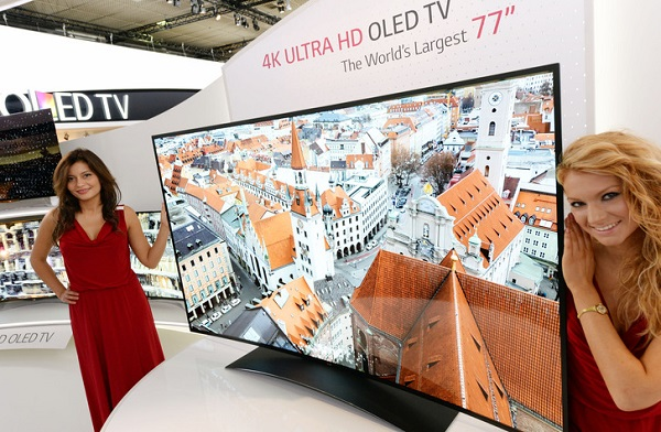 LG' den 4K Kavisli OLED TV