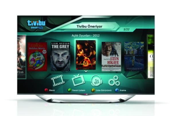 Tivibu, Arçelik ve Beko Smart TV'lerde Yerini Aldı