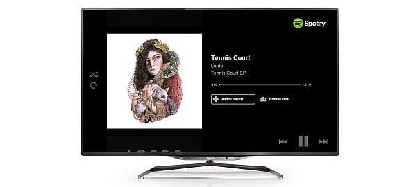 Spotify Uygulaması Philips Smart TV'lerde