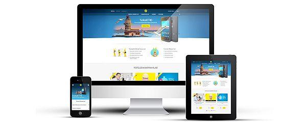 Turkcell'in Web Sitesi Yenilendi