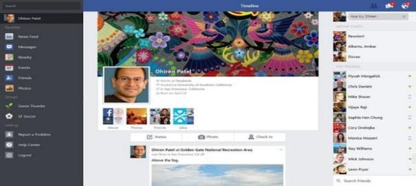 Facebook, Windows 8.1 İçin Güncelleme Yayınladı