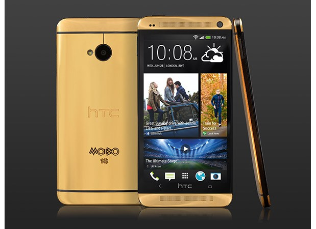 Altın HTC One, İngiltere'de Piyasada!