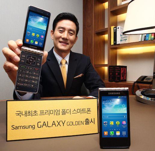 Samsung, Galaxy Golden'ı Tanıttı!