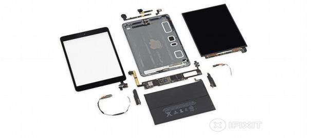Retina Ekran Teknolojisine Sahip Yeni iPad Mini, Parçalandı