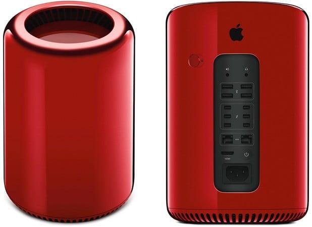 Kırmızı Apple Mac Pro, Fiyatıyla Rekor Kırdı!